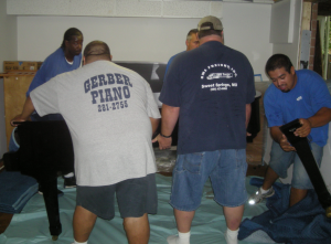 Heavy Hauling: Spas, Safes, Pool Tables-Gerber Moving